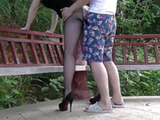 chinese wife in public2 amateur asian mature